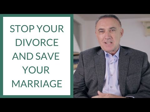 Stop Your Divorce: Save Your Marriage