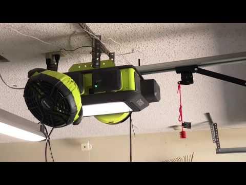Ryobi garage door opener review