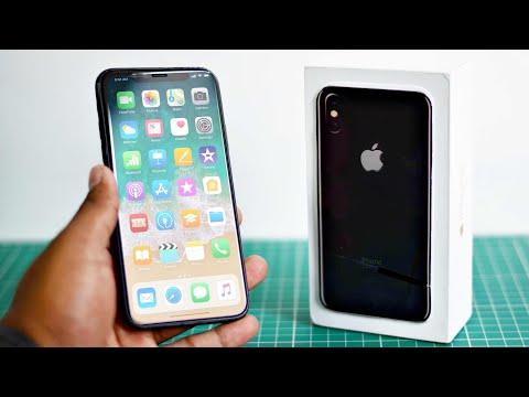 iPhone X Clone Unboxing - Space Grey!