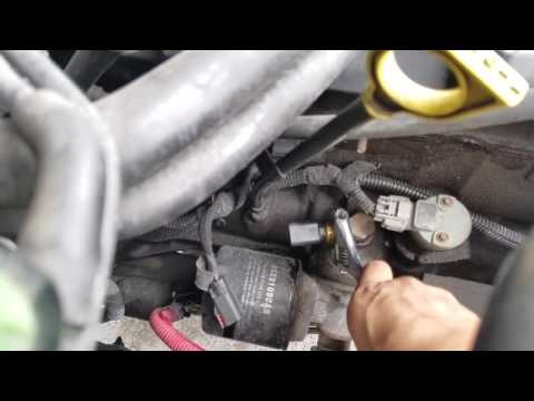 2001 Jeep Cherokee Sport oil pressure gauge and sensor/ switch replacement
