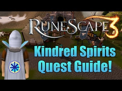 Runescape 3:  Kindred Spirits Quest Guide!