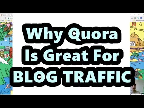 Why Quora Traffic Is a Great For Your Niche Blog