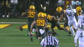 Gophers Recover Mishandled Michigan State Punt