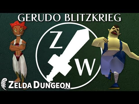 The Gerudo Blitzkrieg - Zelda Warfare