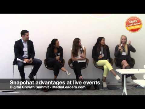 Snapchat advantages at live events (DGS4 Recap)