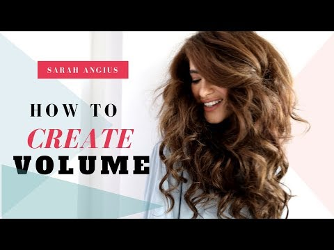 How To Create Volume With Clip-in Extensions | Sarah Angius