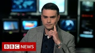 Ben Shapiro: US commentator clashes with BBC