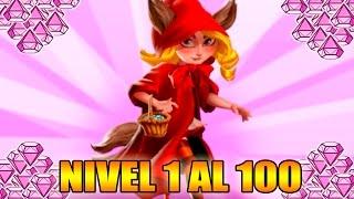 Monster Legends - SORTEO GEMAS - Little Red Furry Cap - Level 1 to 100 & Combat - Review