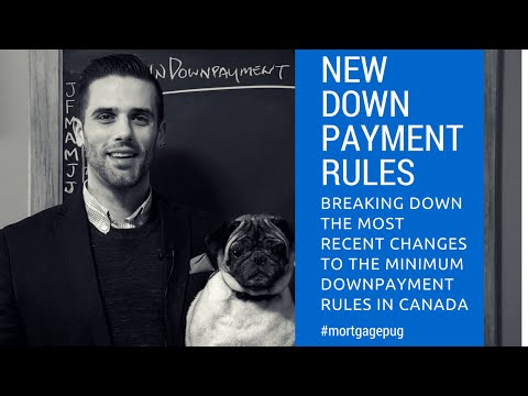 New Mortgage Downpayment Rules Canada 2016