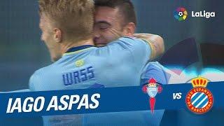 Golazo de Iago Aspas (1-0) Celta de Vigo vs RCD Espanyol