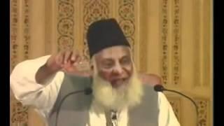 """Muslim Women: """"Stay in Your Homes"""" !! Dr. Israr Ahmad"""