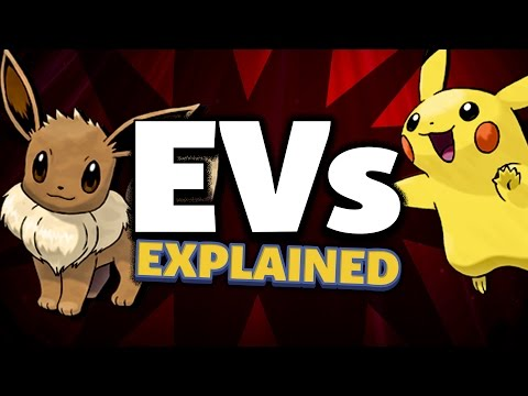 Pokemon: EVs Explained