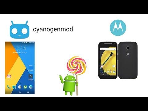 04 - Install / Flash Cyanogenmod 12.1 to Moto E2 2015 - Installing CM 12.1