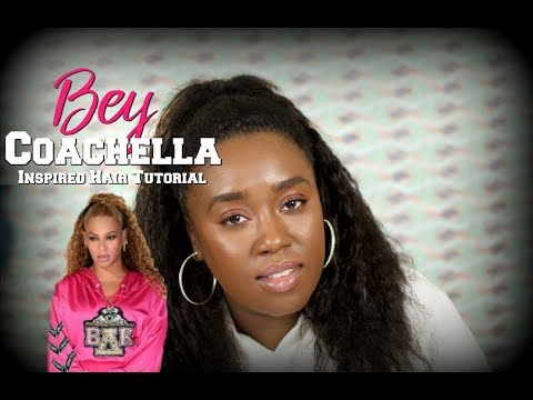 Beyonce Coachella INSPIRED Hair Tutorial | #Beychella
