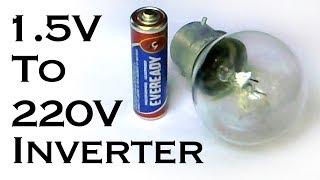 How to Make AAA (1.5V) Battery to 220V AC Inverter
