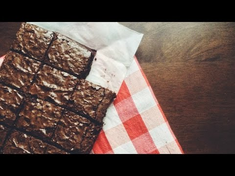 Perfect Fudgy chocolate brownies