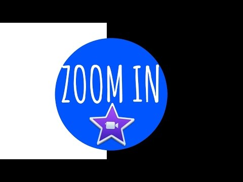 ZOOM IN AND OUT EFFECT IN IMOVIE