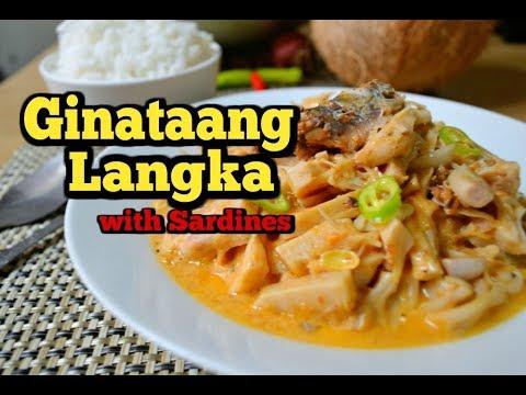 Ginataang Langka (with Sardines)