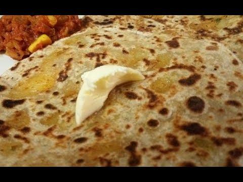 Aloo paratha | potato stuffed chapathi| English subtitles