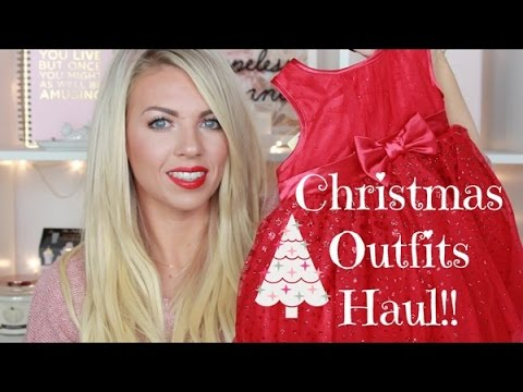 Christmas Outfits Haul!