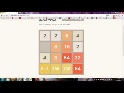 How to solve 2048 game