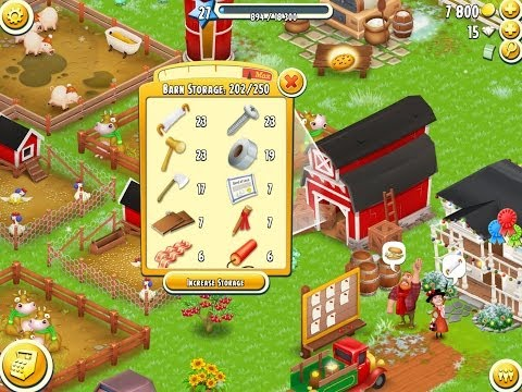 2014 Hay Day BEST tip: how to get a tool item every 5-10 minutes for free!