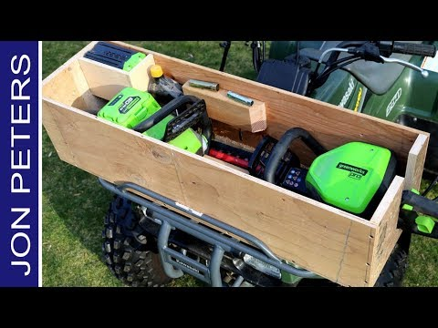 Make - Build a Toolbox  for a Four Wheeler ATV
