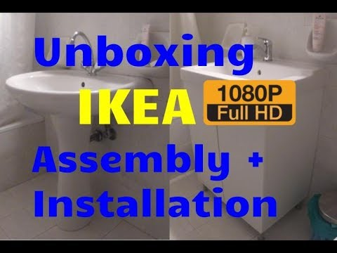 Unboxing IKEA items TÄLLEVIKEN, FULLEN, OLSKÄR and ORREVIK + Installation [GoPro3]