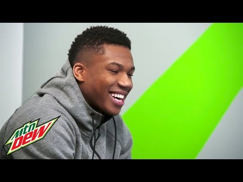 Answer The Call with Giannis Antetokounmpo | DEW x NBA