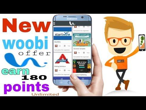 New woobi offer earn 180 point [Hindi]