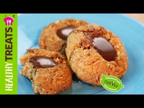 Chocolate Drop Cookies - Natvia's Healthy Treats