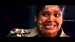 Thamirabharani Tamil Movie | Comedy Scenes | Ganja Karuppu gets beaten by the police | Vishal