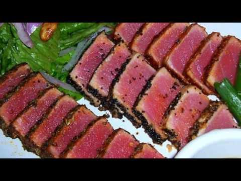 Recipe: Seared Ahi Tuna Steaks