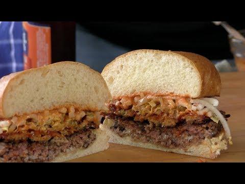 K-Pop Burger Recipe! (Korean BBQ Inspired)