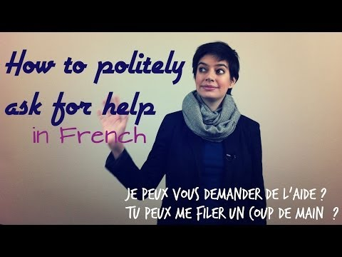 How to Ask for Help in French