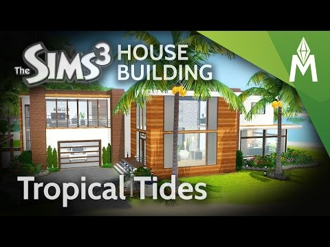 The Sims 3 House Building - Tropical Tides