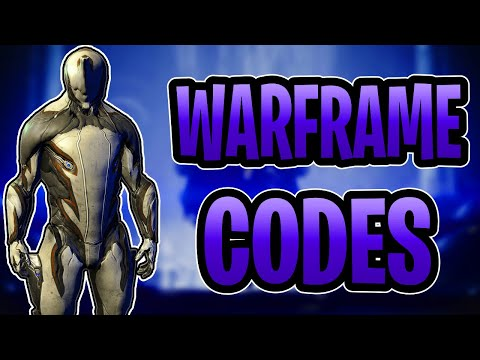 All warframe codes all consoles