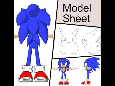 tutorial Model Sheet no Blender - Descomplica 3d