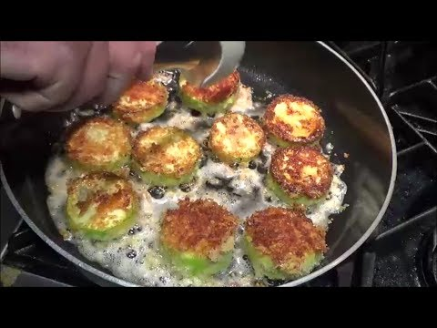 Pan-Fried Breaded Zucchini