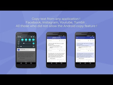 How to Copy Text from Twitter, Instagram and YouTube || Universal Copy App Review !!
