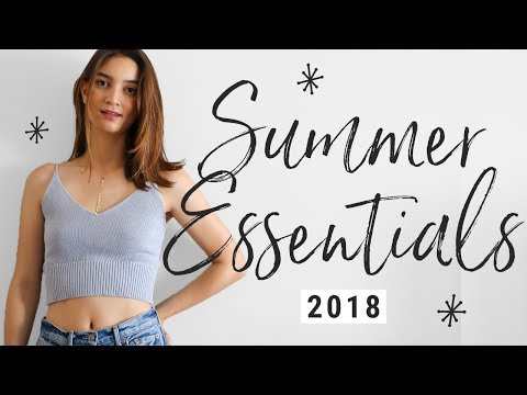 Top 10 Summer Wardrobe Essentials!!
