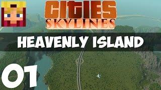 Cities Skylines Heavenly Island: Part 4 - Bus Lanes