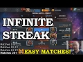how to get streak in teir 4 basic catalyst arena