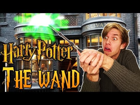 THE ELDER WAND? - GETTING A WAND AT OLLIVANDERS - POTTERMORE - HARRY POTTER