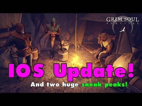 Grim Soul Dark Fantasy Survival is now on IOS! Apple approved GSDF! (Vid#153)