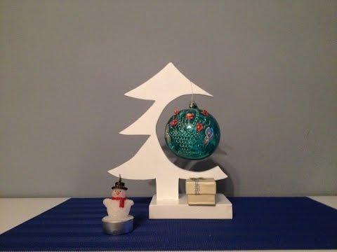DIY MDF Christmas Tree