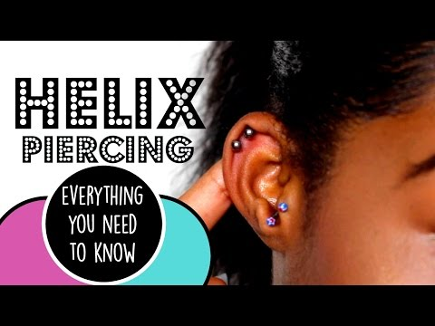 Helix Piercing - pain, experience, aftercare | Ri Central