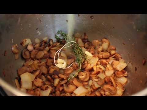 How to Make Creamy Mushroom Soup - Cream of Mushroom Soup Recipe