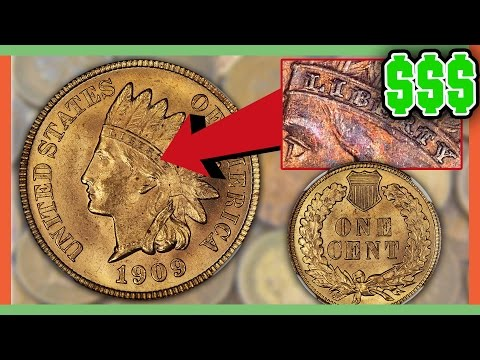 RARE VALUABLE PENNIES WORTH MONEY INDIAN HEAD PENNY VALUE