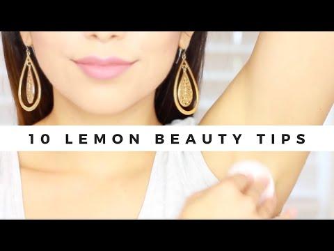 10 LEMON BEAUTY TIPS